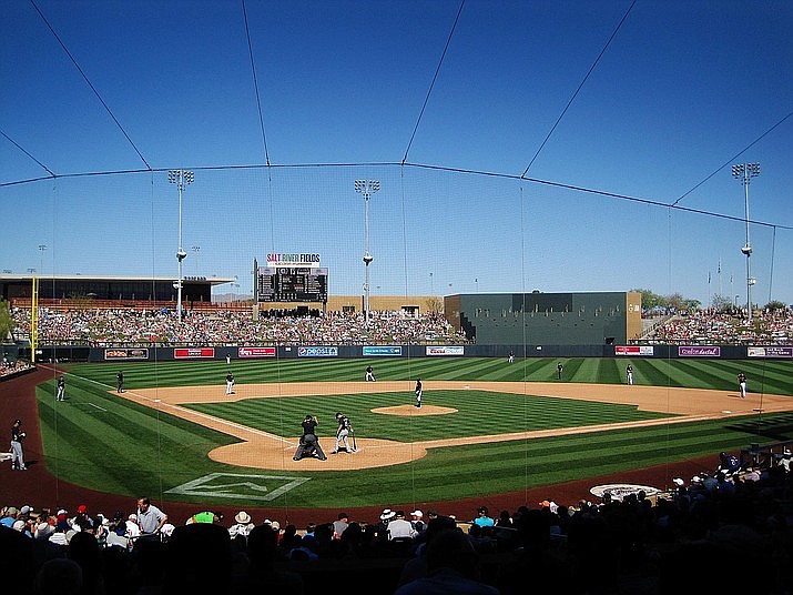 The U.S. Supreme Court has given a key victory to players on minor league teams, clearing the way for them to sue to be paid the minimum wage while they're in spring training in Arizona, playing on fields like this one. VVN file/Bill Helm