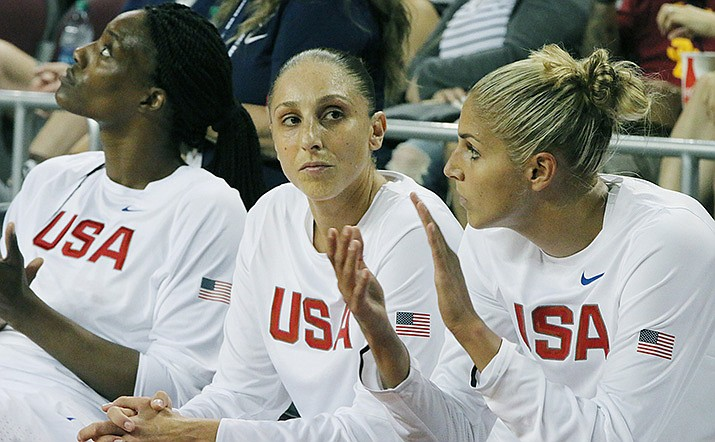 Will Diana Taurasi stick around to try for another Olympics? Or will she retire? Questions abound. (File photo by Ryan Wright/Cronkite News)