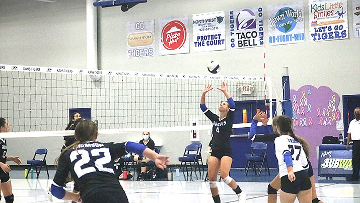 The Kingman Academy High School girls volleyball team beat Sedona Red Rock 3-0 on Saturday, Oct. 3. (Miner file photo)