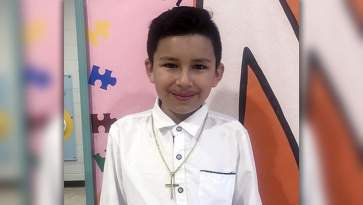 Rafael Montero Molina is always the first to compliment his classmates and makes sure that everyone has their material to complete their class for the day. (Humboldt Unified School District)