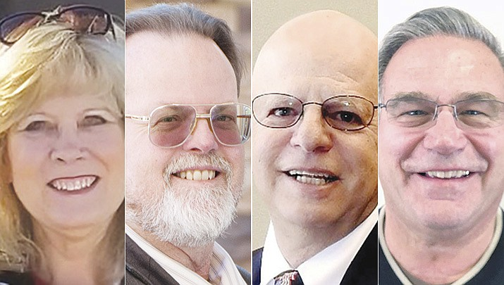Advancing from the 2020 Primary Election for the remaining two Prescott Valley Council seats are Brenda Dickinson, David Dohm, incumbent Martin Grossman and Roger Kinsinger. (Courier file)