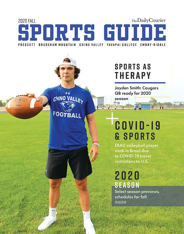 2020 Fall Sports Guide cover.