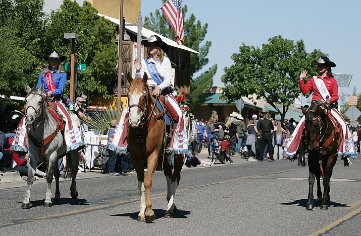 The annual Fort Verde Days is this weekend, Oct. 9-11. At 10 a.m. Saturday, the Parade will start on Main Street. VVN/Bill Helm