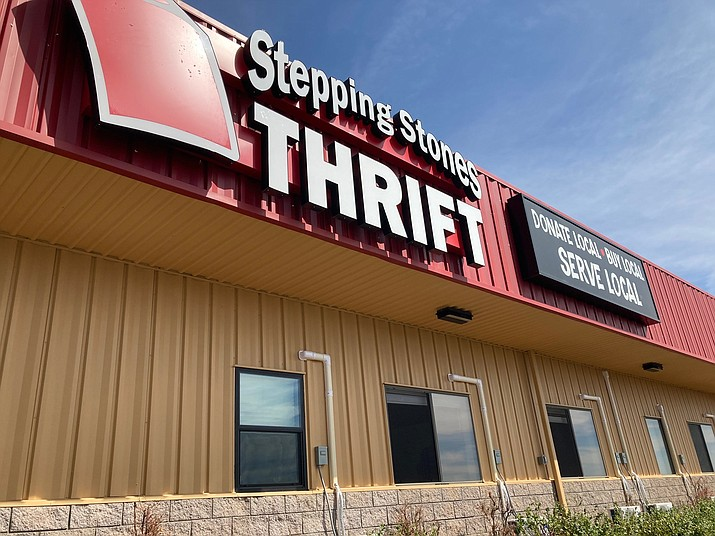 Stepping Stones Agencies and Thrift Store's main campus is located at 2651 N. Industrial Way in Prescott Valley. (Doug Cook/Courier)