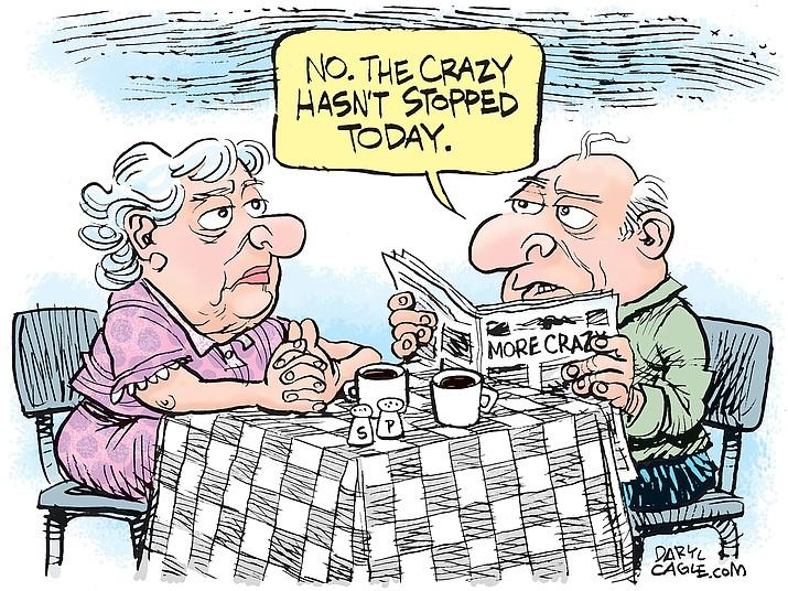 Editorial cartoon (2): Oct. 13, 2020
