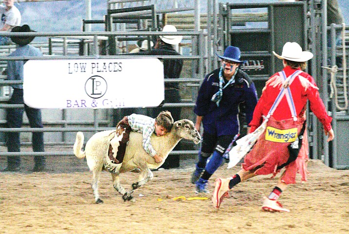 Children and adults competed in the Fort Verde Days rodeo, held Oct. 9-10 at the equestrian center off State Route 260 east of the Verde Ranger Station. VVN/Bill Helm