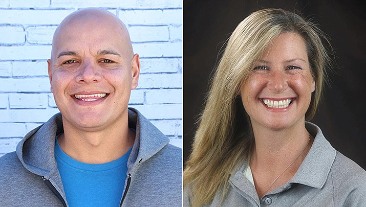 """Eric Granillo and Regina """"Gina"""" Pecoraro are candidates running for a Chino Valley Town Council seat. (Courtesy)"""