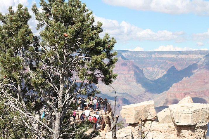Edwin Dahozy was sentenced to 37 days in jail, one year probation and banned from Grand Canyon National Park for the duration of his sentence. (Loretta McKenney/WGCN)
