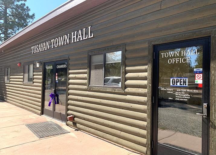 Tusayan Town Hall is located at 845 Mustang Drive in Tusayan. (Loretta McKenney/WGCN)