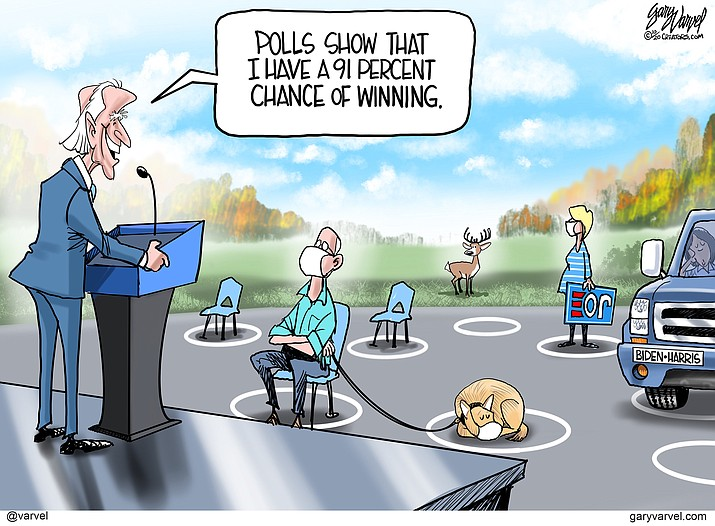 Editorial cartoon (1): Oct. 15, 2020
