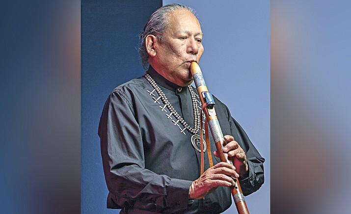 Navajo flutist R. Carlos Nakai