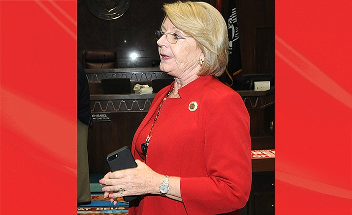 Senate President Karen Fann (Capitol Media Services 2019 file photo by Howard Fischer)