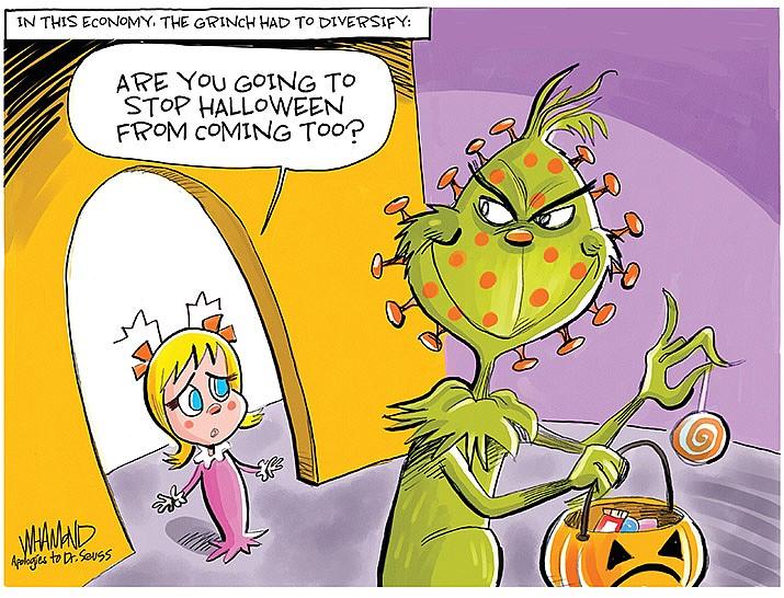 Editorial Cartoon   Oct. 16, 2020