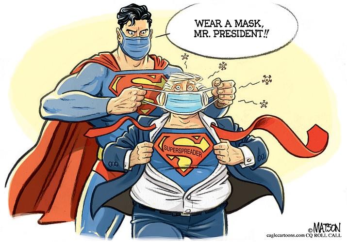 Editorial cartoon (2): Oct. 16, 2020