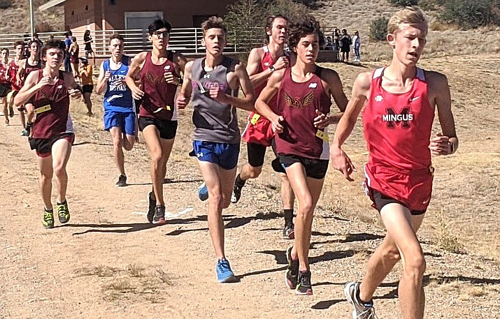 Mingus also had top-20 finishes from junior Isaac Reynolds and senior Jehiah Rogers, who finished in the 15-16 slots in the field of 94 runners with respective times of 18:18 and 18:26. VVN/Dan Engler