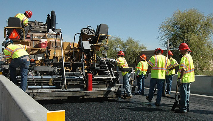 """A team from the University of Arizona is working with the City of Phoenix on a """"cool pavement"""" pilot program. (Arizona Department of Transportation photo)"""