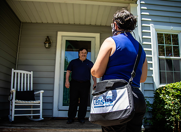 Door-to-door enumeration, where Census Bureau workers try to find and record people who did not respond to the census on their own, was planned to go until Oct. 31. But the bureau instead ended the count on Oct. 15, to allow time to deliver its report to the president by Dec. 31. (Photo courtesy U.S. Census Bureau)
