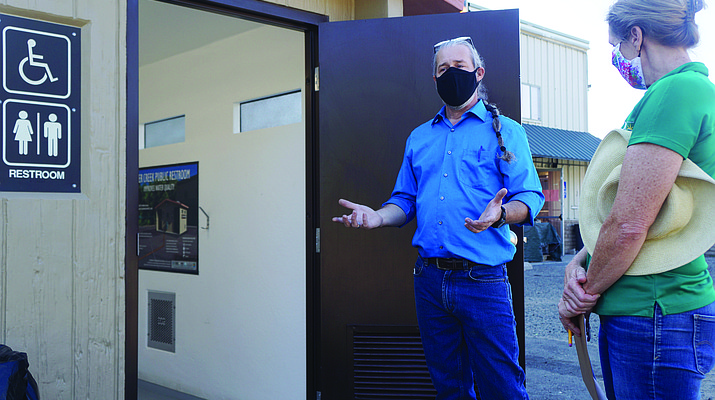 New Miller Creek-area restrooms aim to improve water quality, human dignity