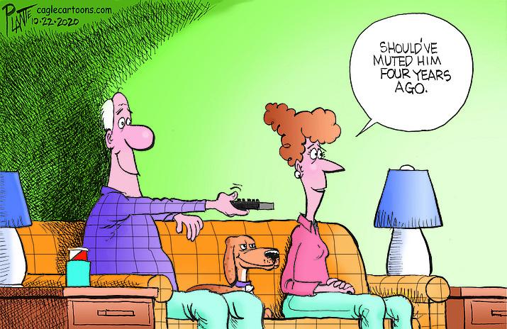 Editorial cartoon (1): Oct. 23, 2020