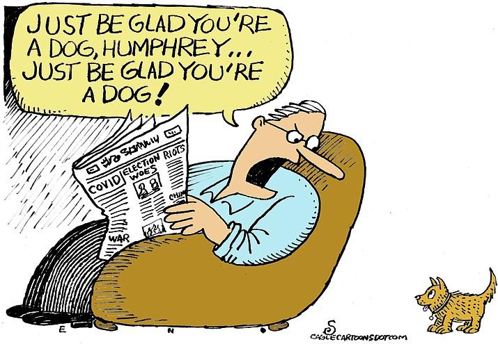 Editorial cartoon (2): Oct. 23, 2020