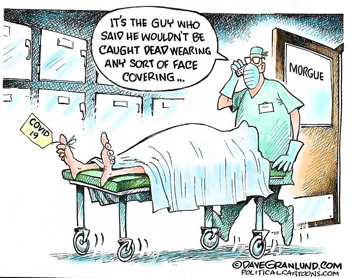 Editorial cartoon (2): Oct. 25, 2020