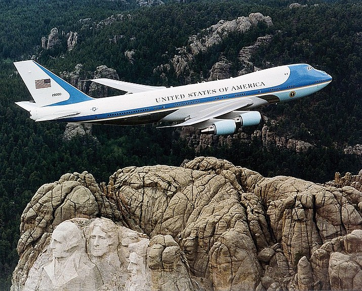 Air Force One will be flying into Laughlin/Bullhead International Airport on Wednesday, Oct. 28 for a campaign rally featuring president Donald Trump. (Official U.S. Air Force photo/Public domain)