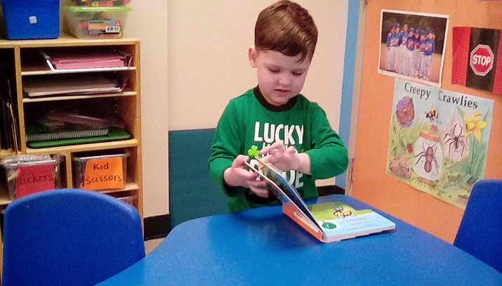 Gabriel R. from Bright Futures Preschool is this week's HUSD Student of the Week. (Humboldt Unified School District)