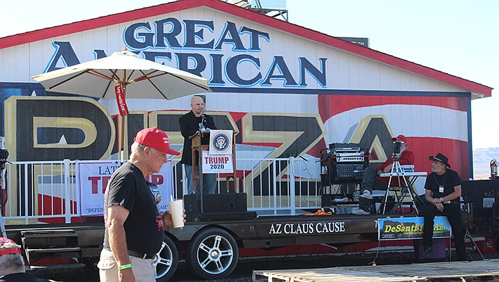 Great American Pizza in Golden Valley is shown during the Trumpstock event last year. (Miner file photo)