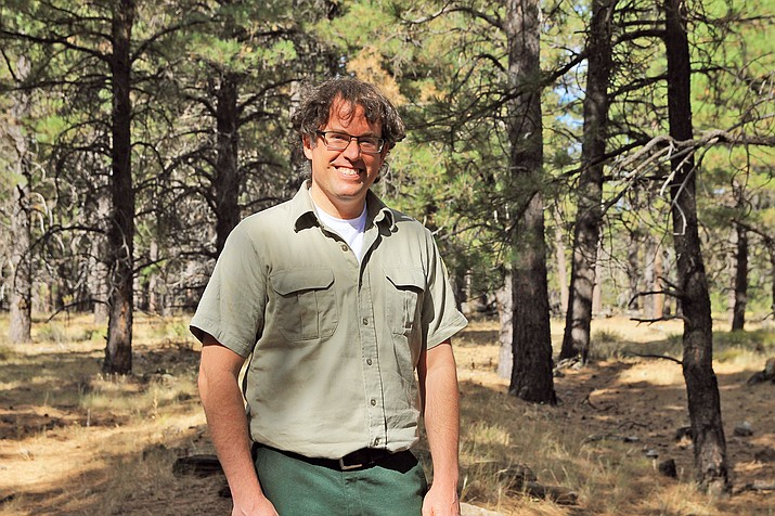 Charlie Webber is the new South Kaibab Zone Archaeologist. (Wendy Howell/WGCN)