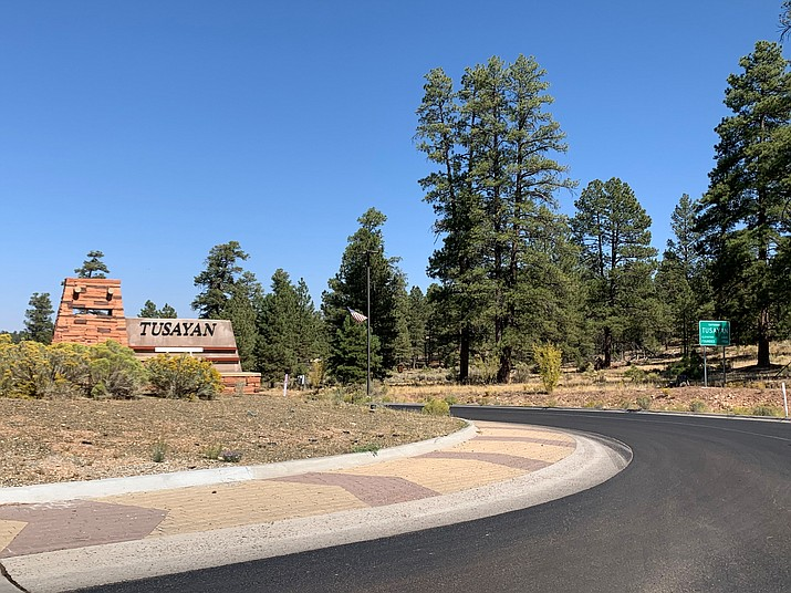 The town of Tusayan is drafting a letter in response to the recent approval of an application that could allow development along the South Rim of Grand Canyon. (Loretta McKenney/WGCN)