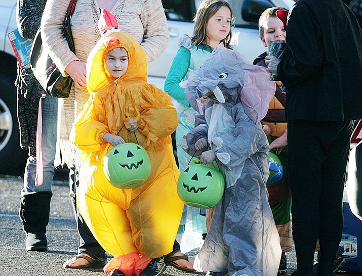 With the governor's limit on large public gatherings during the COVID-19 pandemic, Verde Valley leaders and others who typically coordinate Halloween events have made adjustments. VVN file/Bill Helm