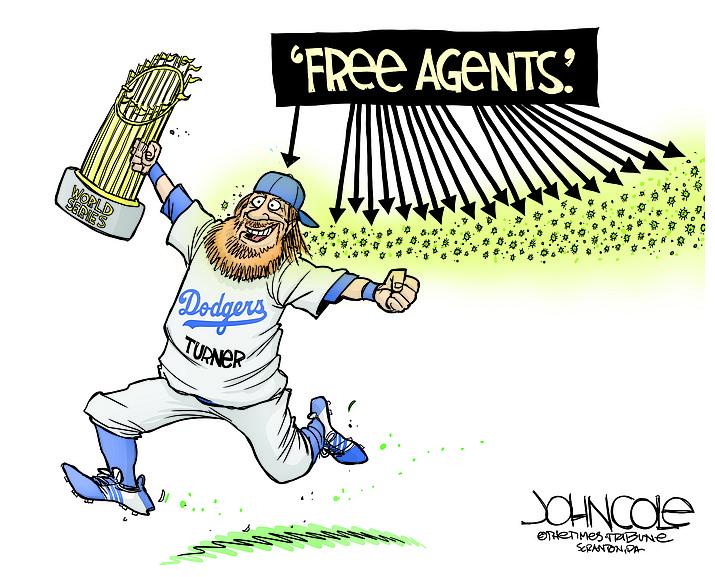 Editorial cartoon (1): Nov. 1, 2020