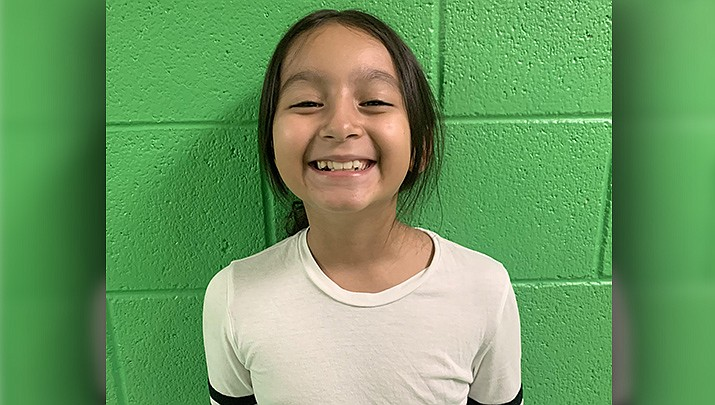 Iliana from Coyote Springs Elementary is this week's Humboldt Unified School District Student of the Week. (HUSD)