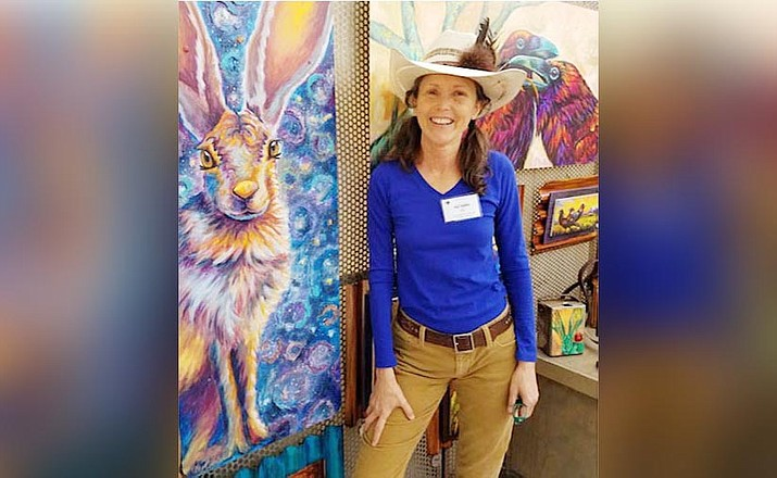"""... I thoroughly enjoy bringing fun, laughter, joy, peace and happiness to the faces of people who see my paintings."" –Meg Harper"