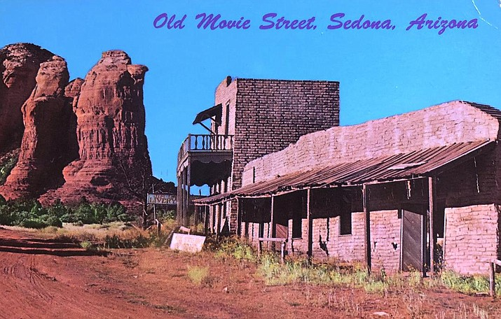Old movie street, Sedona.