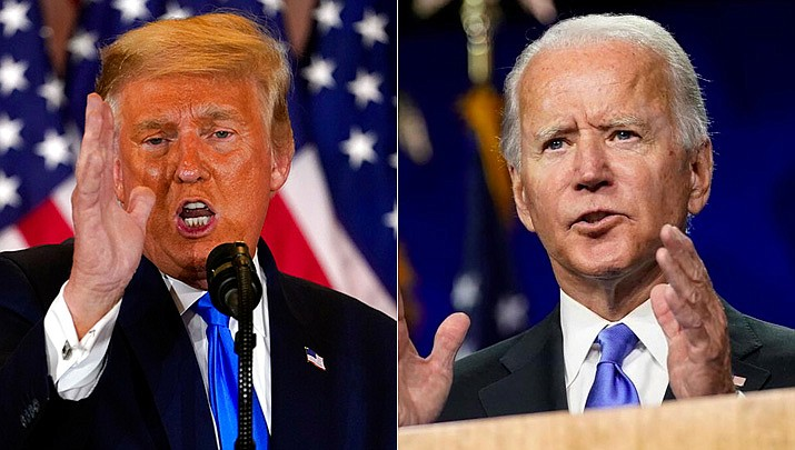 Biden's lead in Arizona narrows, but not enough for Trump to catch up | The  Daily Courier | Prescott, AZ