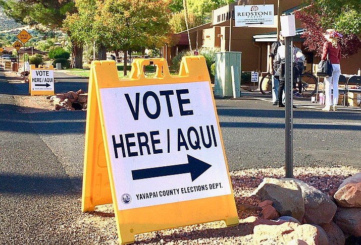 Ballots from more than 80% of registered voters in Yavapai County were already being counted Tuesday night, Nov. 3, and more ballots continued to be processed. VVN/Vyto Starinskas