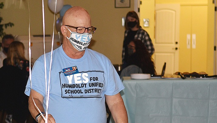 The proposed $30 million bond and 5% override failed almost two-to-one. The final vote tally reported by the Yavapai County Elections division was 15,554 against, or 60.6%, to 10,105 or 39.38%. (Jesse Bertel/Courier)