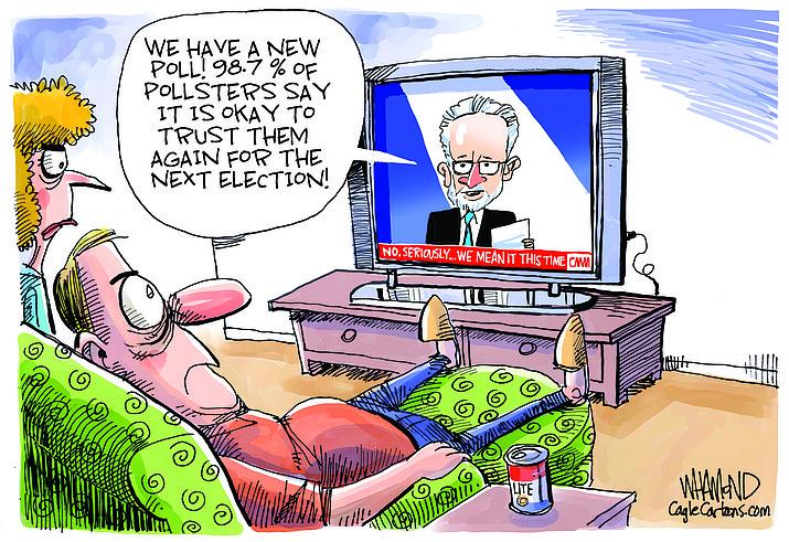 Editorial cartoon (1): Nov. 7, 2020