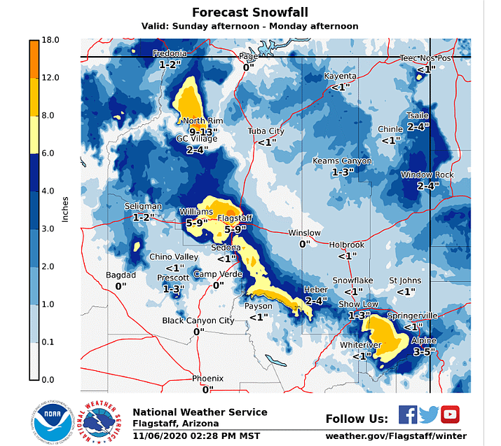 National Weather Service Flagstaff/graphic
