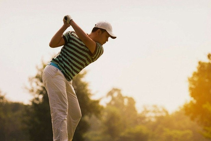 The desire to hit that little golf ball farther is determined by two things: the clubhead speed at contact; and the solidness of contact (centeredness on the clubface), with the most important of these two factors is the centeredness of contact. (Courier file)