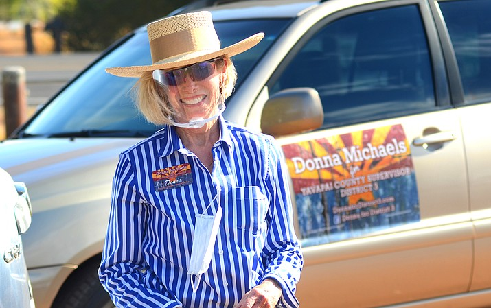With all votes now having been counted in the District 3 Yavapai County supervisors election, challenger Donna Michaels has outpaced incumbent Randy Garrison by a 179-vote margin with nearly 26,000 ballots cast. VVN/Vyto Starinskas