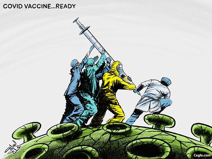 Editorial cartoon (2): Nov. 13, 2020