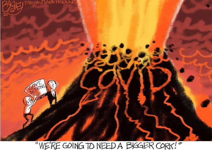 Editorial cartoon (1): Nov. 14, 2020