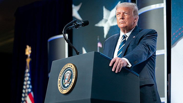 Attorneys defending Arizona election officials are seeking dismissal of a lawsuit filed by President Donald Trump asking for a manual inspection of all Election Day ballots cast in metro Phoenix. (Official White House photo/Public domain)