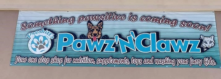 "Business news this week includes Preskitt's Pawz 'N' Clawz coming soon at 1210 Gail Gardner Way, Suite 103 (Paws'N""Clawz/Courtesy"