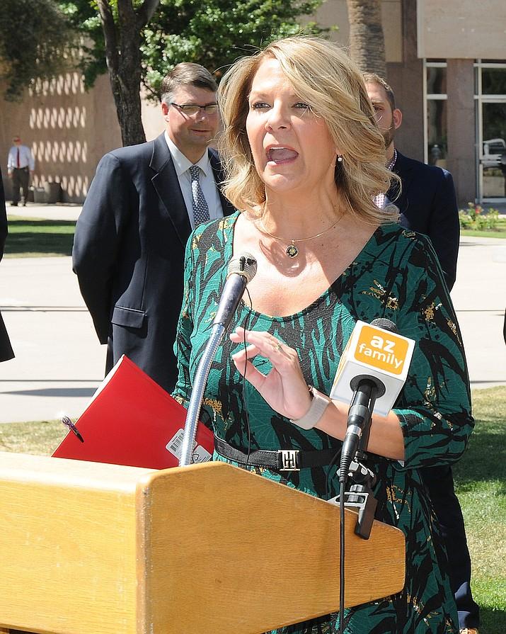 Arizona GOP Chair Kelli Ward. (Capitol Media Services file photo)