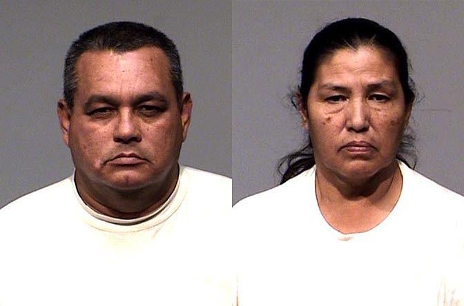 Odilon Campana, left, and Martha Barajas-Ruiz. Cottonwood PD courtesy photo