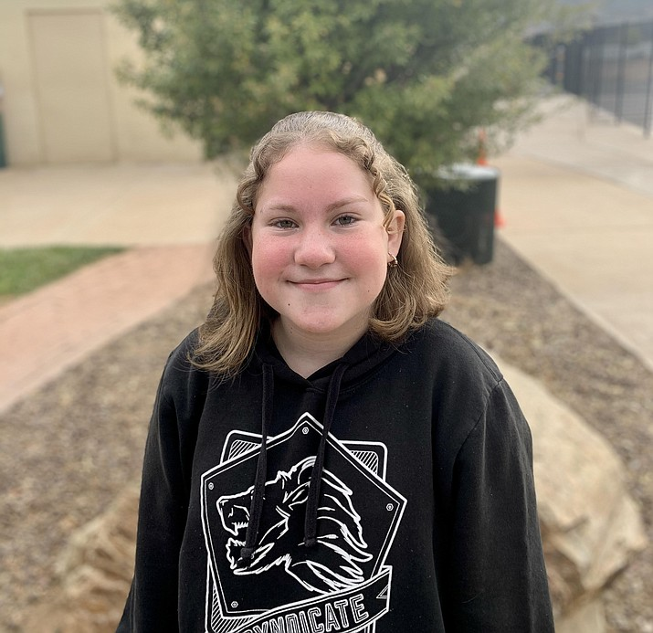 Jessie Knight from Humboldt Elementary is this week's Humboldt Unified School District Student of the Week. (HUSD)