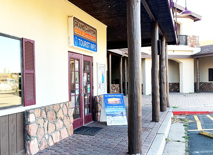 Grand Canyon Chamber of Commerce and Visitors Bureau is located in Tusayan. (Photo/WGCN)